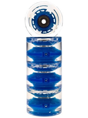 Sunset Skateboards Blue 65mm Conical Cruiser Rollen
