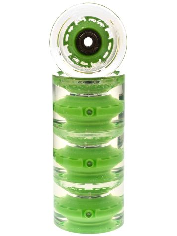 Sunset Skateboards Green 65mm Conical Cruiser Rollen