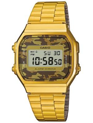 Casio A168WEGC-5EF gold / camouflage (brown) Gr. Uni