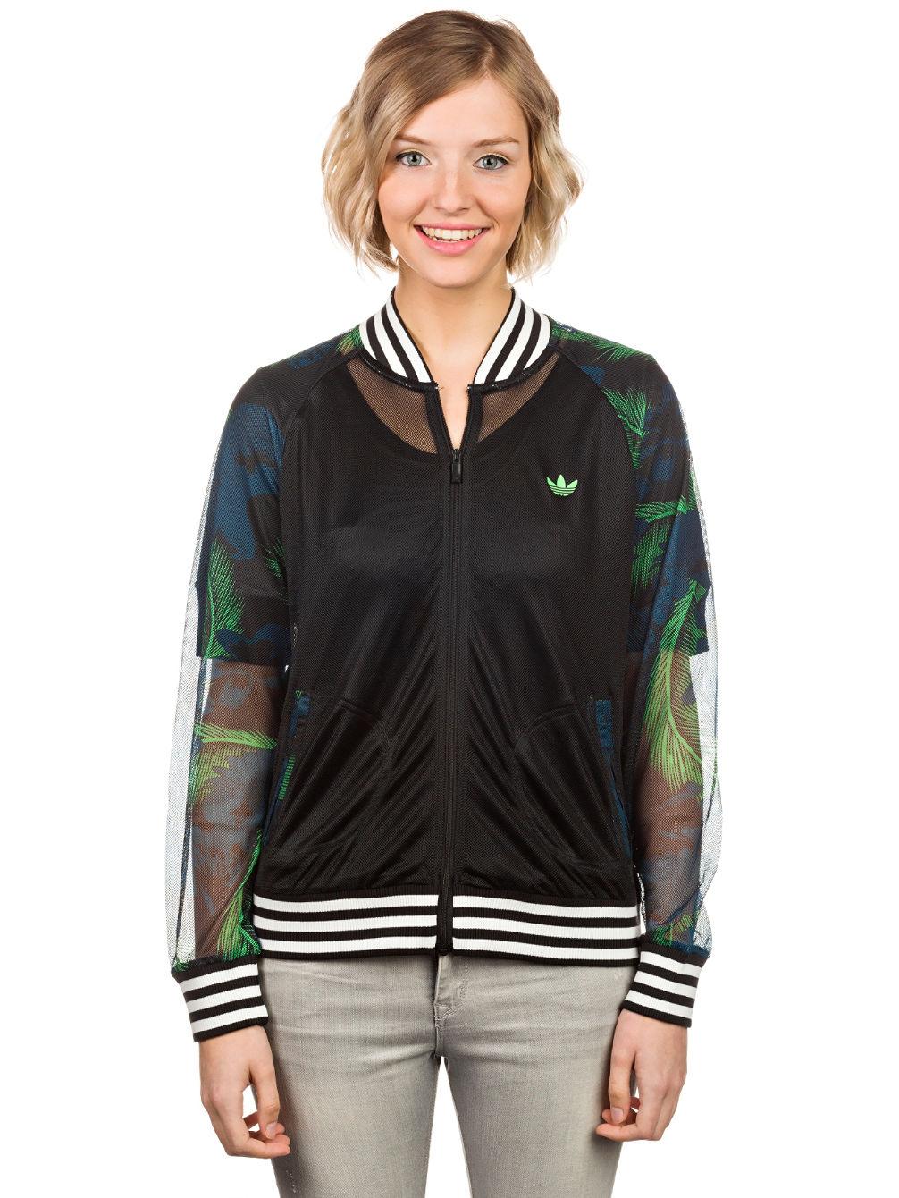 e421fccdb1885 Buy adidas Originals Hawaii Superstar Mesh Track Top Jacket online ...