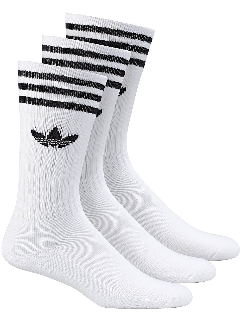 Buy adidas Originals Solid Crew Socks online at blue-tomato.com 717605f8f