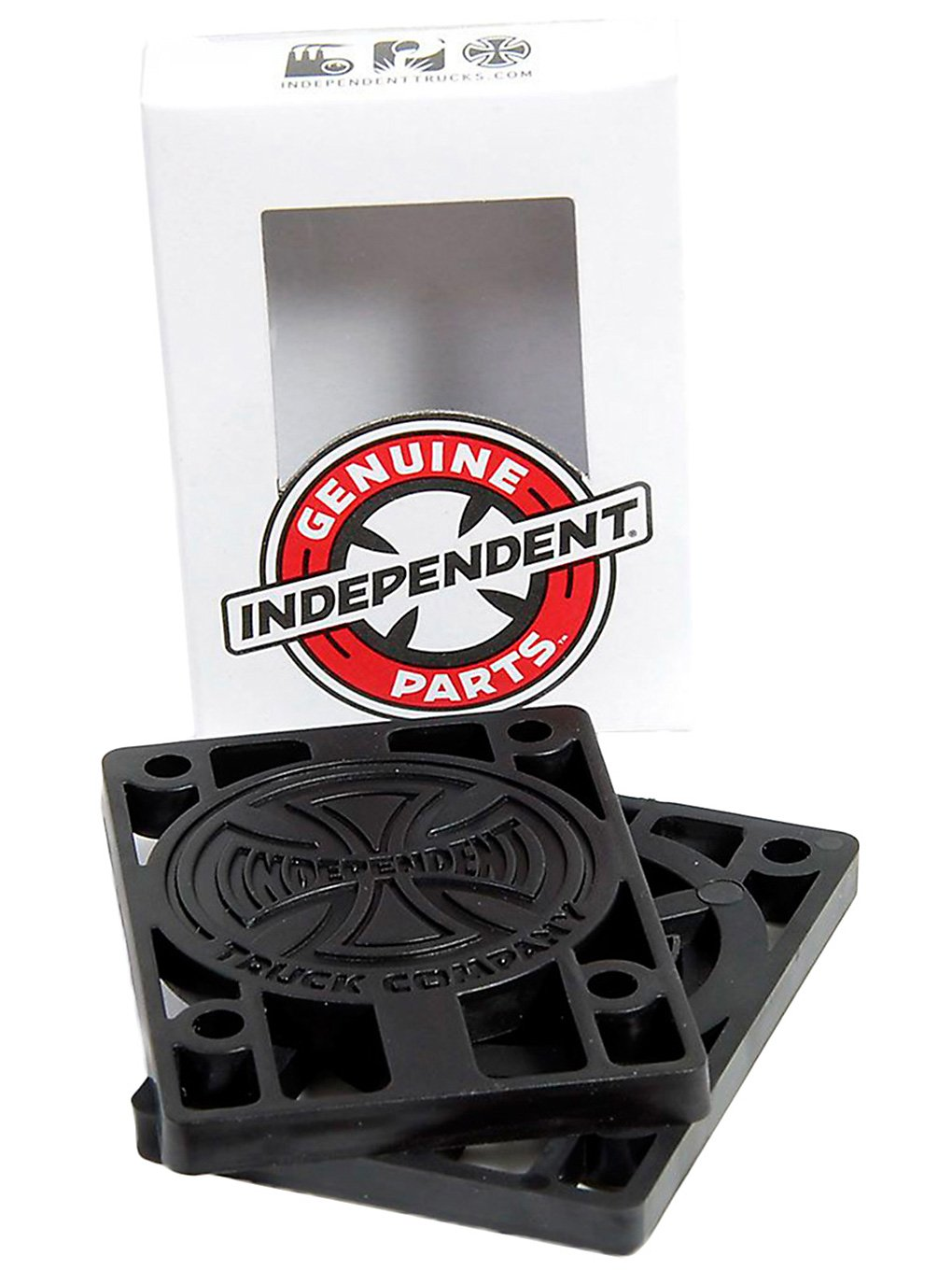 "Image of Independent Riserpads 1/4"" Riser nero"