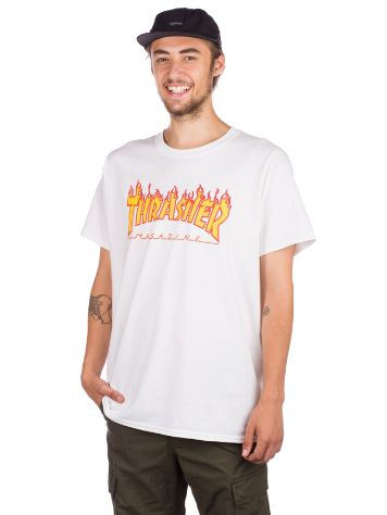 Thrasher Flame Tricko