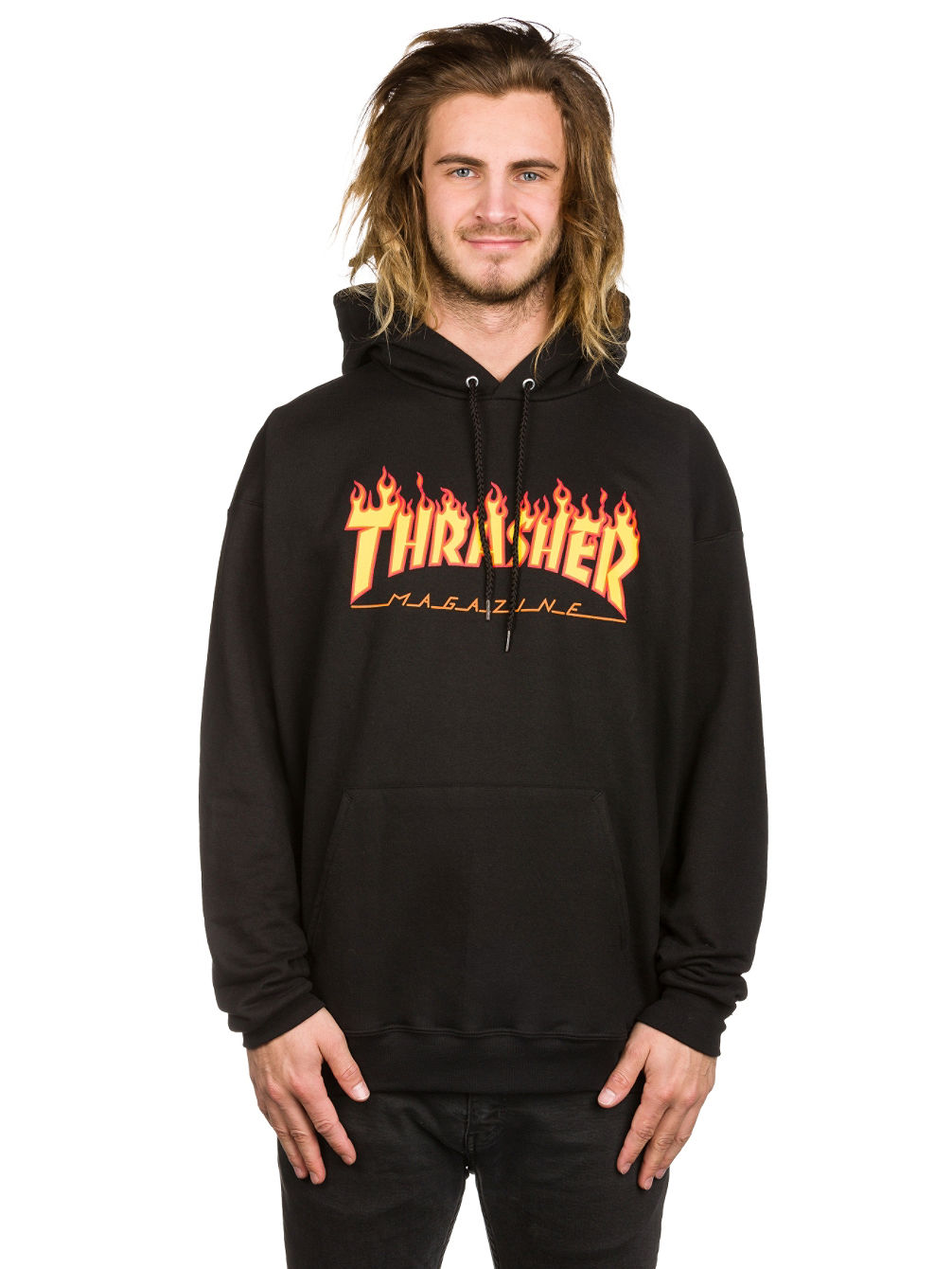 4392b528d7e9 Buy Thrasher Flame Hoodie online at Blue Tomato