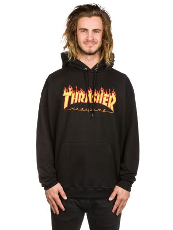 Thrasher Flame Pulover s Kapuco