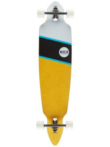 "Nice Skateboards Red Sea 42"" x 9"" Complete"