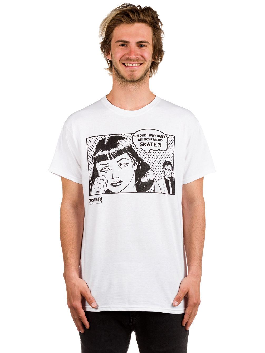 d94c1c918 Buy Thrasher Boyfriend T-Shirt online at Blue Tomato
