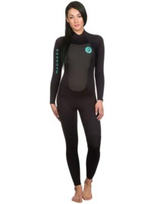 Madness Evolution 4/3 Steamer Wetsuit black / slate Gr. ML