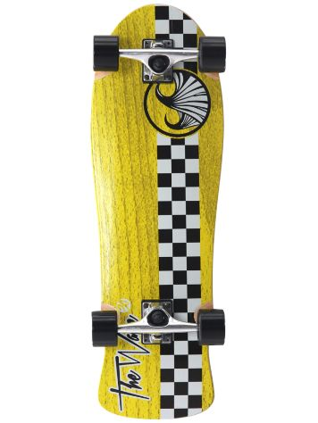 "Wave Skateboard Checker 30"" Complete"