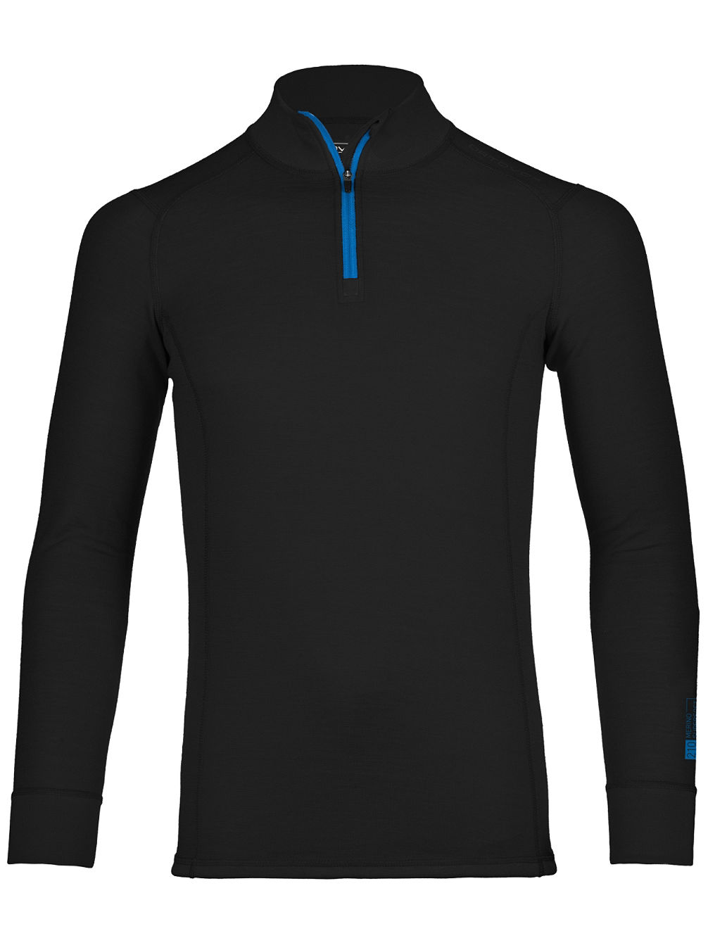 Merino S-Soft 210 Zip Neck Tech Tee LS