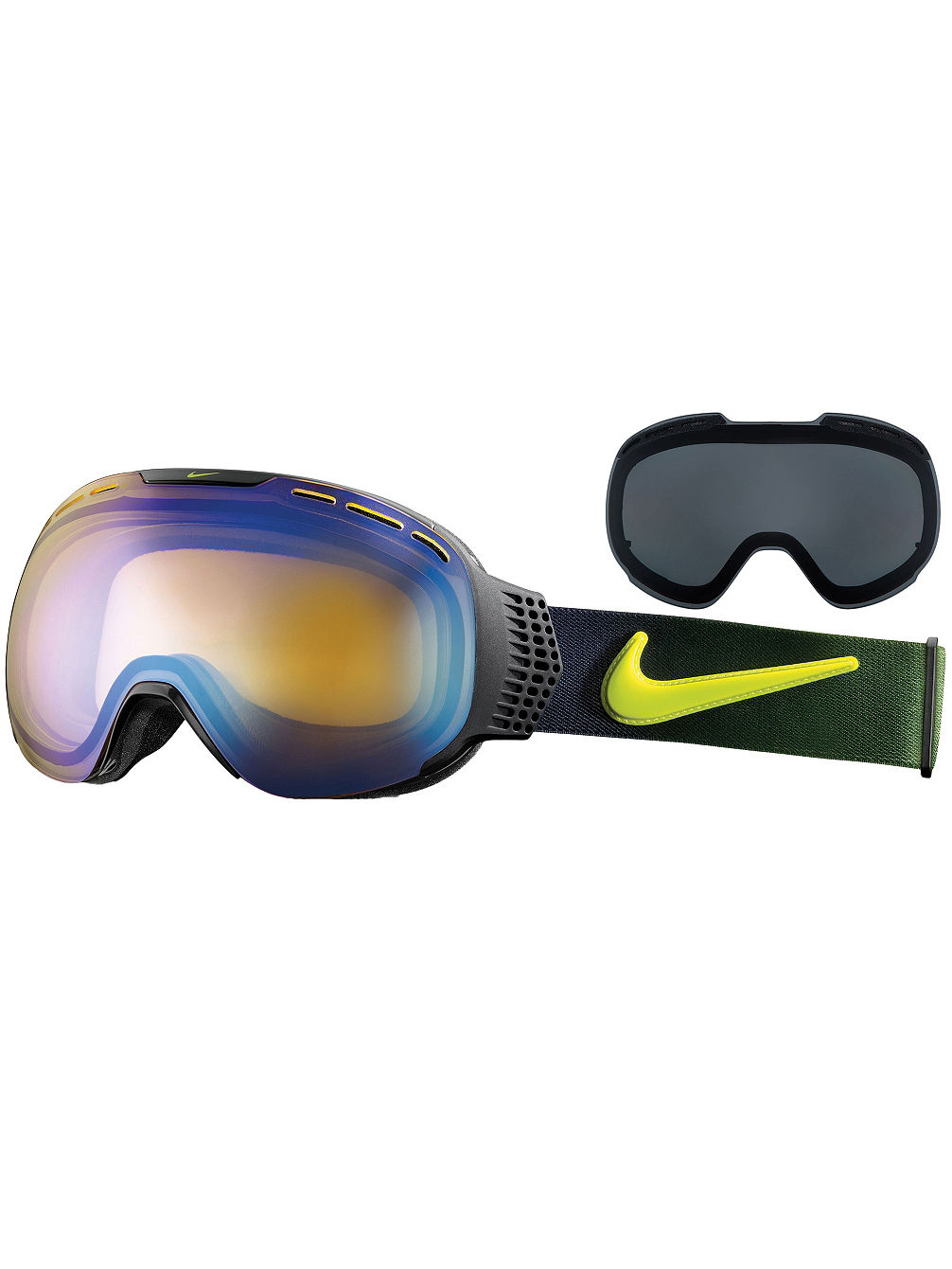Nike Vision Command L black/cyber fade Goggle online kaufen bei blue ...