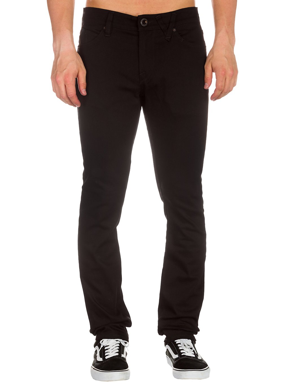 Volcom 2X4 Jeans black on black Gr. 26/30