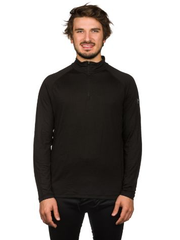 super.natural Base 1/4 Zip 230 Funktionsshirt LS