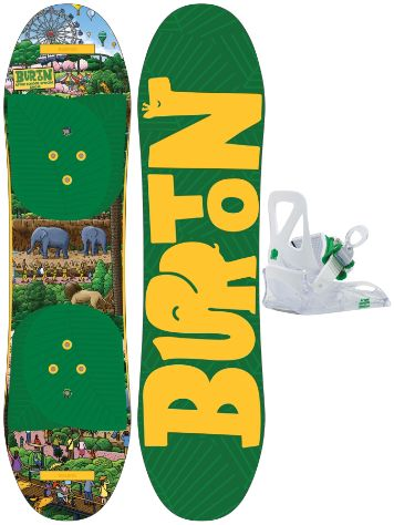 Burton After School Special 80cm+ Bdg. XS Snowboard Set