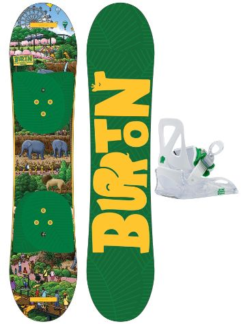 Burton After School Special 100cm+Bdg. XS Snowboard set
