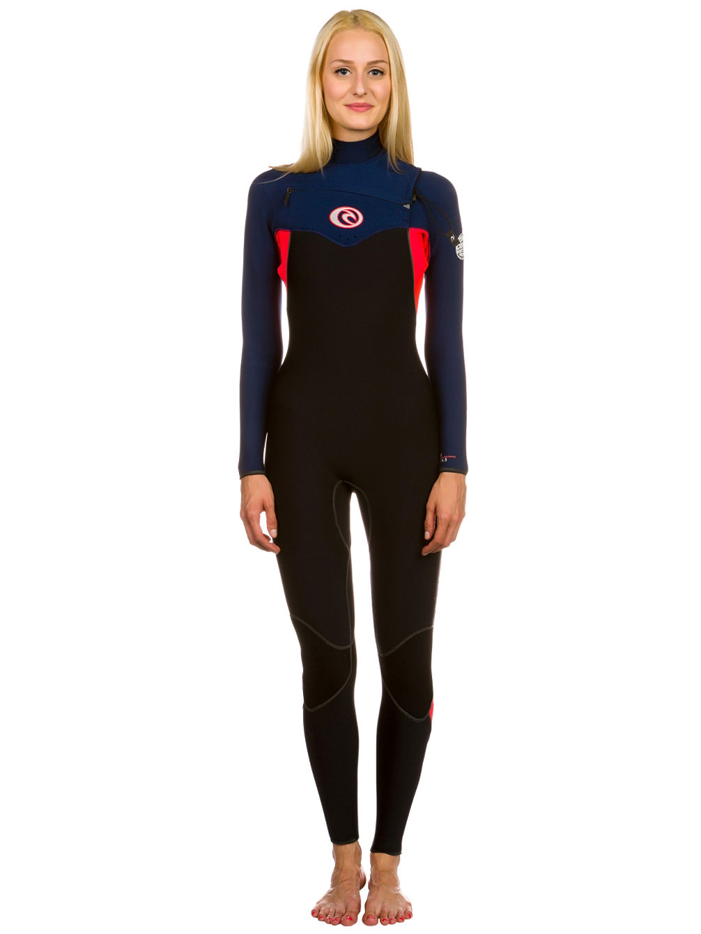 Buy Rip Curl Flashbomb 4 3 Chest Zip Wetsuit online at blue-tomato.com dad482f35f1c