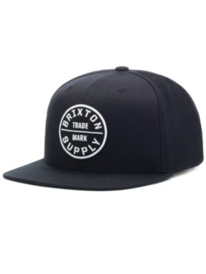 Brixton Oath III Snapback Cap black Gr. Uni