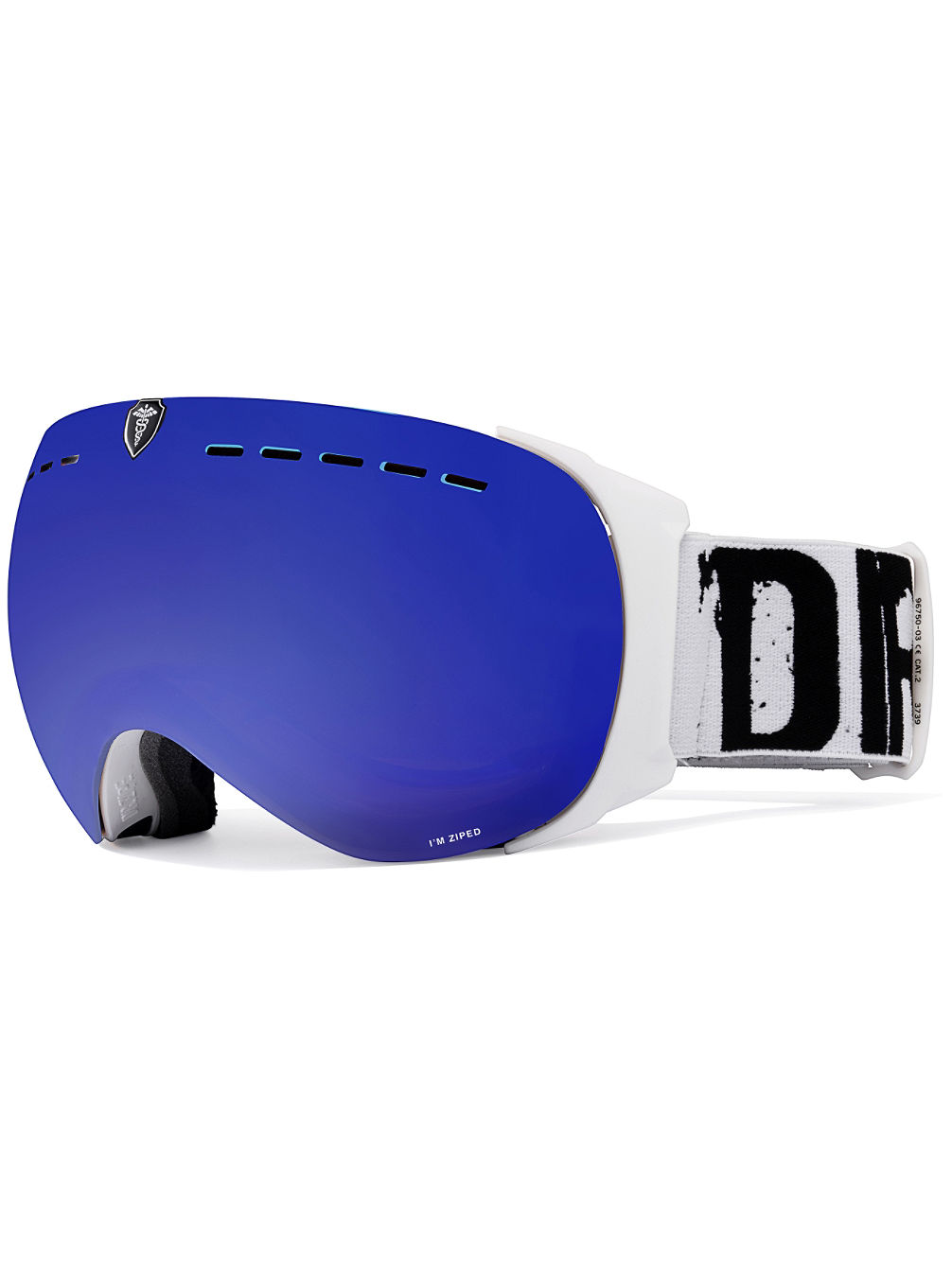 Headmaster Level 7 Matt White/White Black Goggle