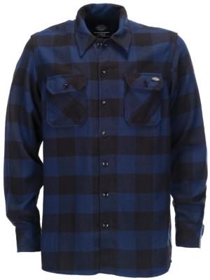 Dickies Sacramento Shirt LS blue Gr. XL
