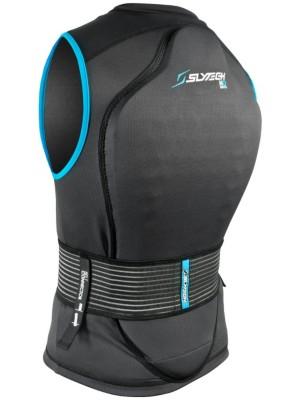 Slytech Vest Backpro Noshock XT black / blue Gr. XL