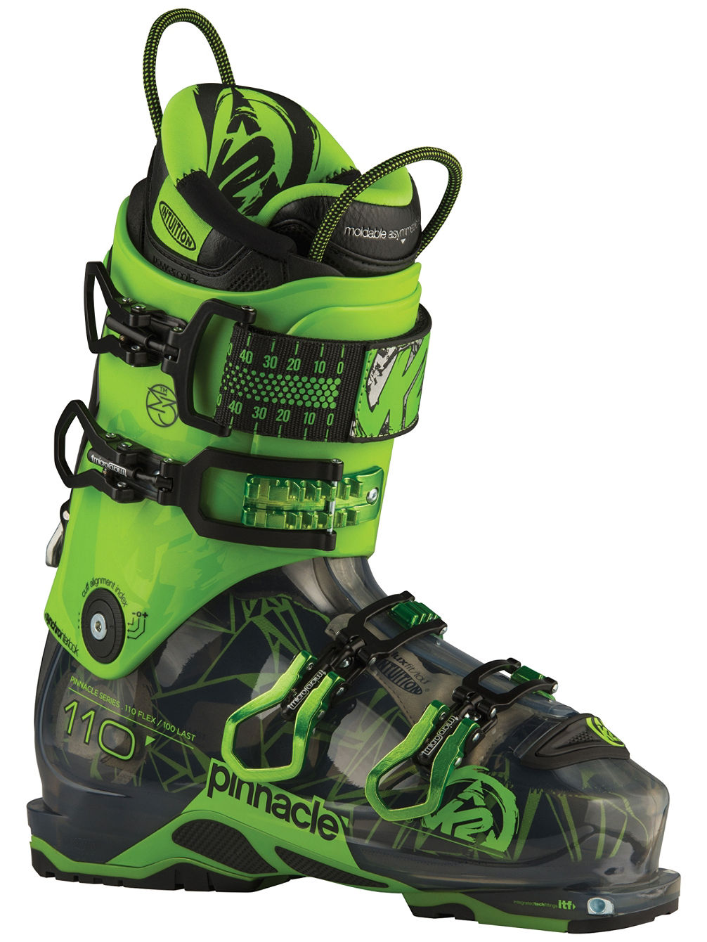 Pinnacle 110 Hv (102 mm) Botas esquí