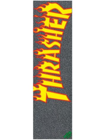 "MOB Grip Thrasher Flame Logo 9"" Lija"