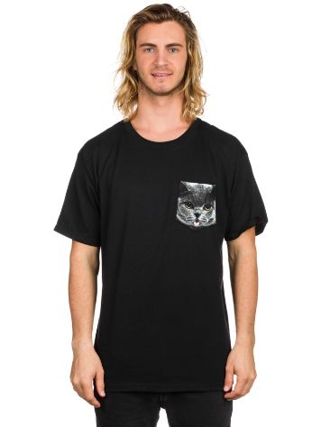 A.Lab Cat On A Pocket T-Shirt