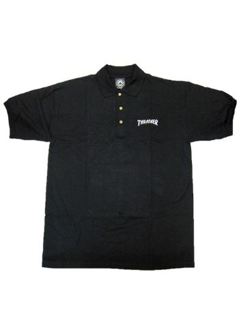 Thrasher Logo Embroidered Polo