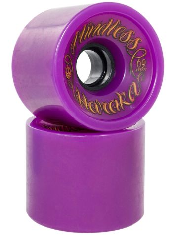 Mindless Longboards Voodoo Haraka 81A Purple 66x51mm Wheels