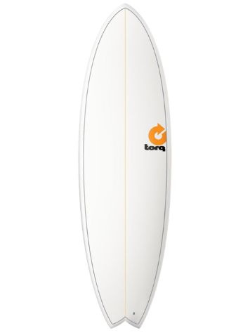 Torq Epoxy 5.11 Fish Pinlines Surfboard