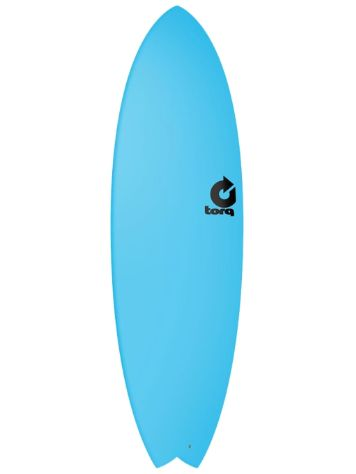Torq Softboard 5.11 Fish Blue Surfboard
