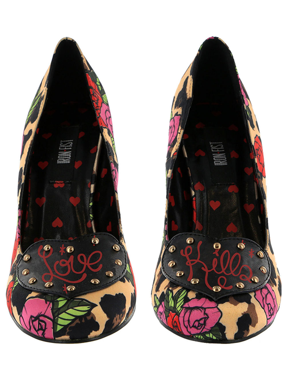 718599857b77 Buy Iron Fist Leopard Garden Heel Shoes Women online at Blue Tomato