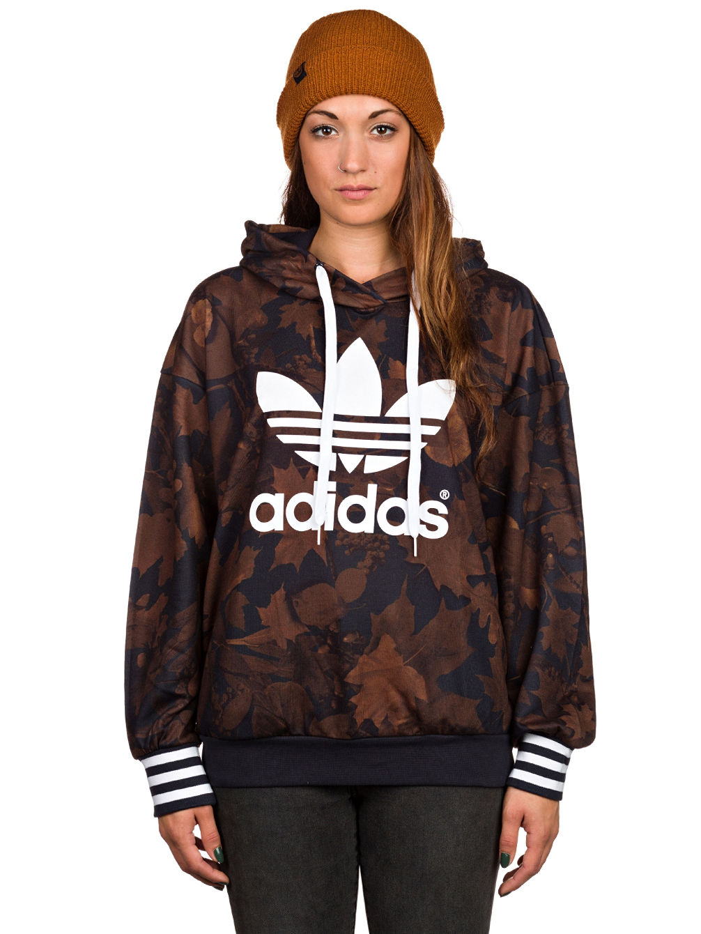 2b90a7202a32 Buy adidas Originals Leaf Camo Hoodie online at Blue Tomato
