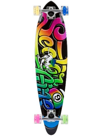 "Sector 9 The Swift Glow 34.5"" x 8.5"" Black Comple"