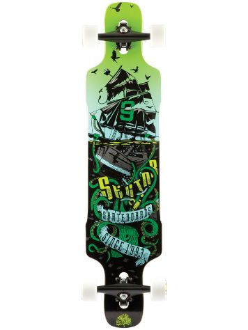 "Sector 9 Dropper 41"" x 9.625"" Green Complete"