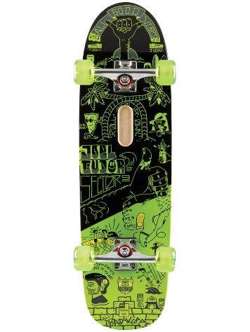 "Sector 9 Joel Pro 32.5"" x 9.125"" Green Complete"
