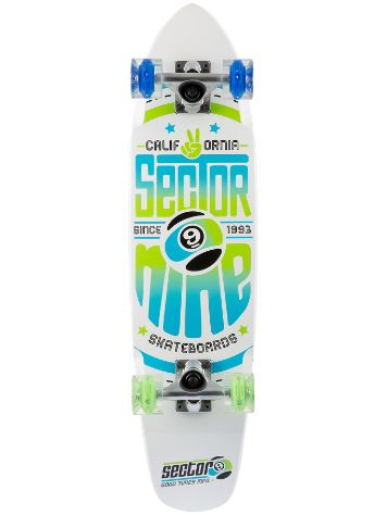"Sector 9 The Wedge Glow 31.25"" x 7.25"" White Comp"