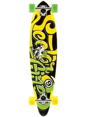 "Sector 9 The Swift 34.5"" x 8.5"" Yellow Completo"