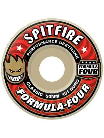 Spitfire Formular Four 101 Duro Classic 50mm Wheels
