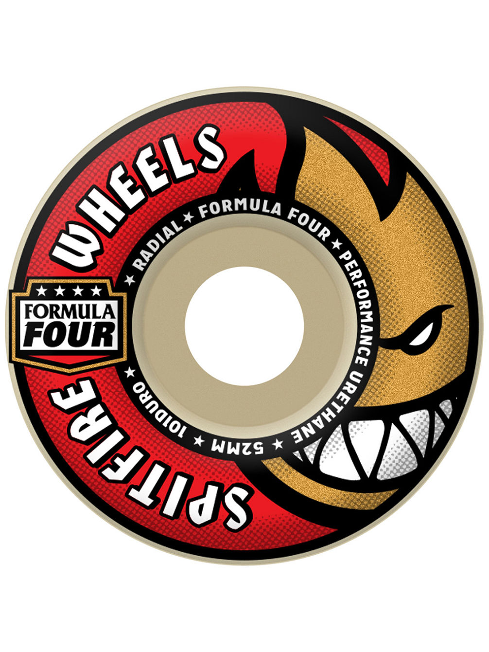 Formular Four 101D Radial 52mm Rollen