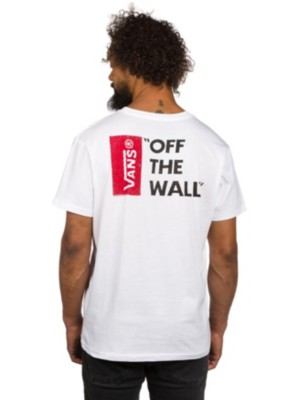 Vans Off The Wall T-Shirt white Gr. S