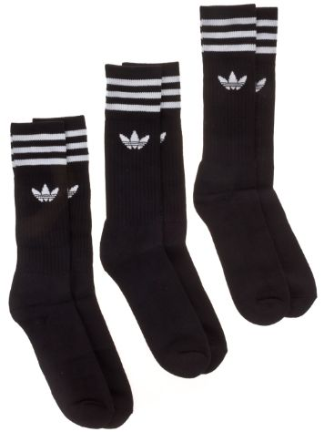adidas Originals Solid Crew 3 Pack Socken