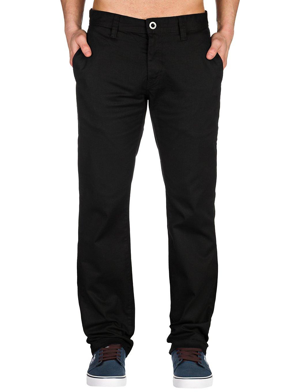 Volcom Frickin Modern Stretch Pants black Gr. 28