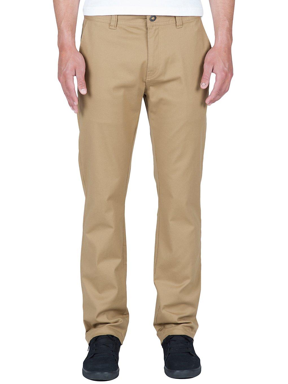 Volcom Frickin Modern Stretch Pants dark khaki Gr. 31