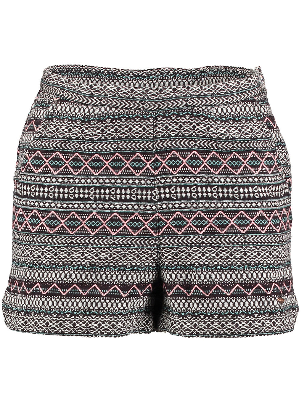 High Waist Brick Shorts