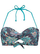 Paisley Molded Wire D-Cup Bikini Top