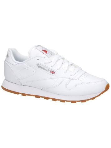 Reebok Classic Leather Sneakers IntWhite Women