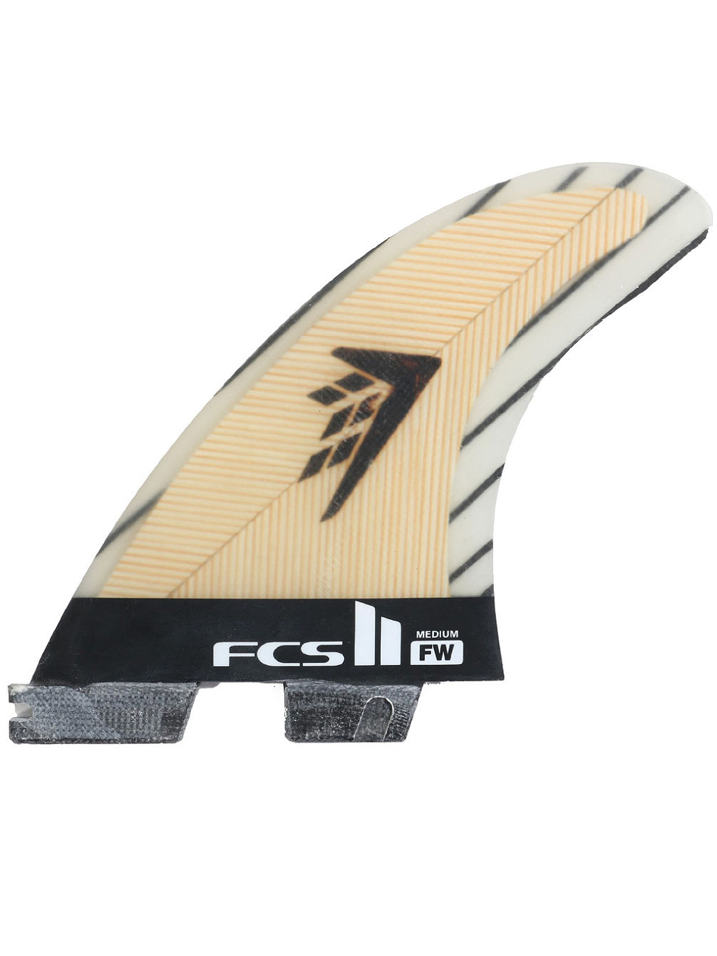 FCS II FW PC Carbon Medium Tri Fins