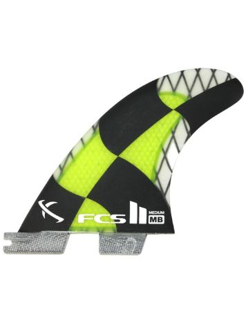 FCS FCS II MB PC Carbon Medium Acid Tri Fins
