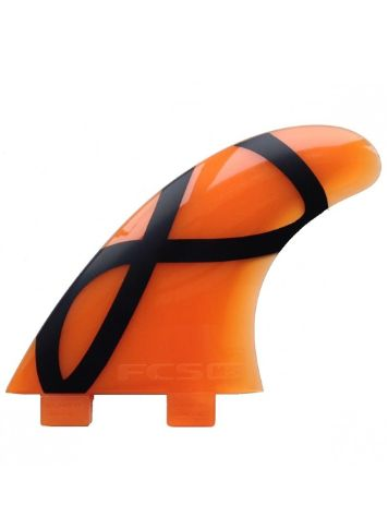 FCS M5 IFT Orange Softflex Tri Fin Set
